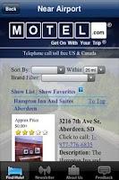 Screenshot of Motel.com