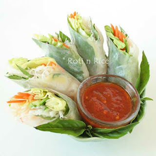Vietnamese Style Spring Rolls Recipe