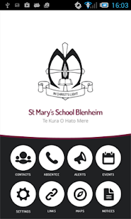 St Mary's School Blenheim- screenshot thumbnail