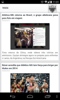 Notícias do Galo - screenshot