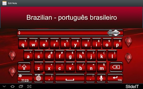 SlideIT Brazilian Pack- screenshot thumbnail