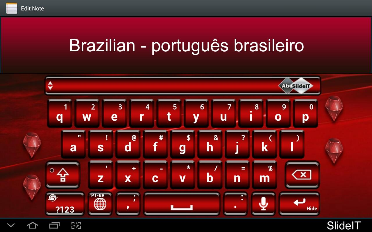 SlideIT Brazilian Pack- screenshot