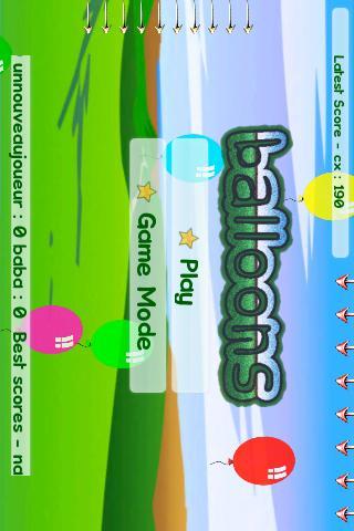 Balloons- screenshot