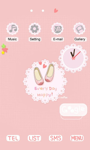 CUKI Themes Pink Shoes