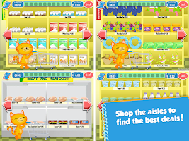 Screenshot of Lil' Kitten Shopping Cart