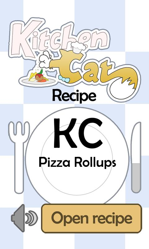 KC Pizza Rollups - screenshot