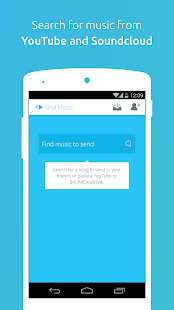 PingTune Music Messenger Screenshot 1