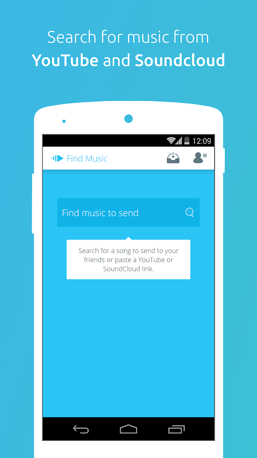 PingTune Music Messenger- screenshot