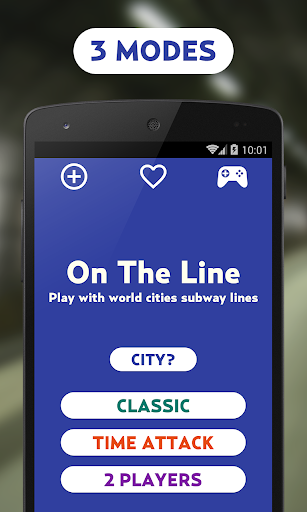 OnTheLine - Subway Game