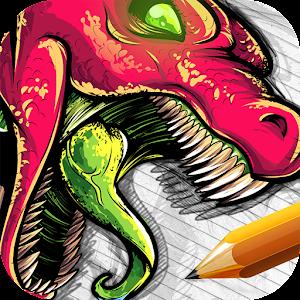 How to Draw Dragons 教育 App LOGO-硬是要APP