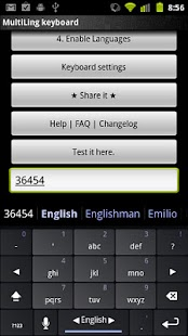 MultiLing Keyboard- screenshot thumbnail