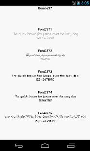 Fonts for Android Samsung Galaxy FlipFont Free|App開發人員上架 ...