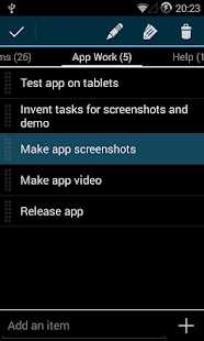 Simple Tasks & Notes- screenshot thumbnail