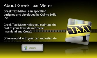 Screenshot of Greek Taxi Meter Pro