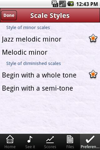 Jazz ScaleHelper- screenshot