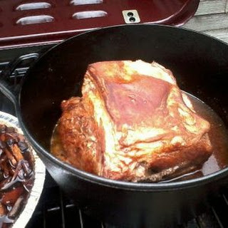 Slow Cooked Cast Iron Boston Pork Butt