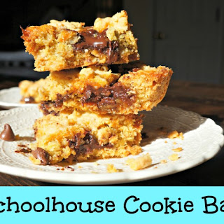 Schoolhouse Cookie Bars