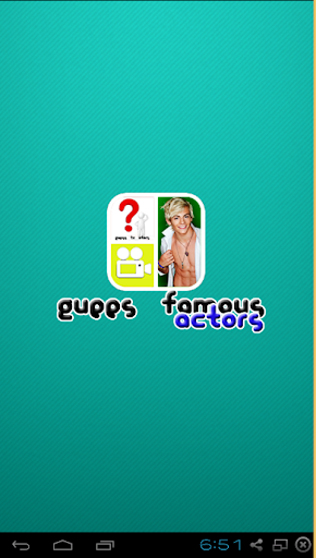 Guess Famous TV Actors Game