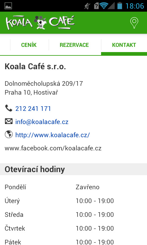 Koala Café- screenshot