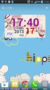 玩個人化App|手繪花鳥數字時鐘小部件(Free&Pro)免費|APP試玩