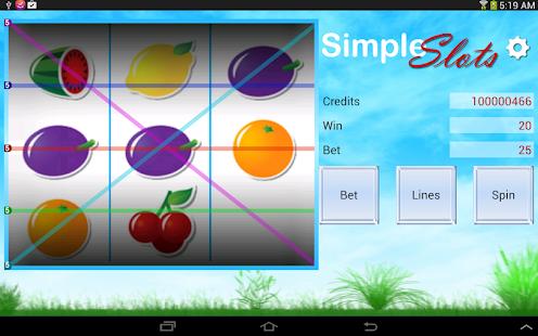 Simple Slots - screenshot thumbnail