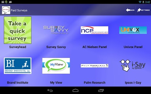 Survey-n-More - Paid Surveys - screenshot thumbnail