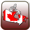 Map of Canada icon