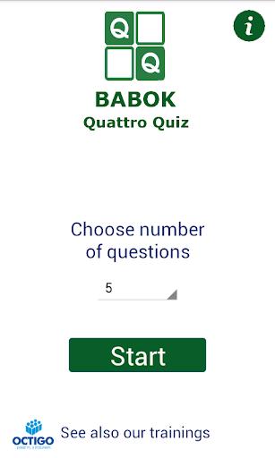 BABOK CCBA CBAP Quiz