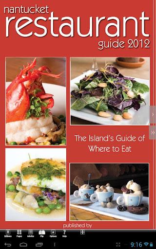 Nantucket Restaurant Guide