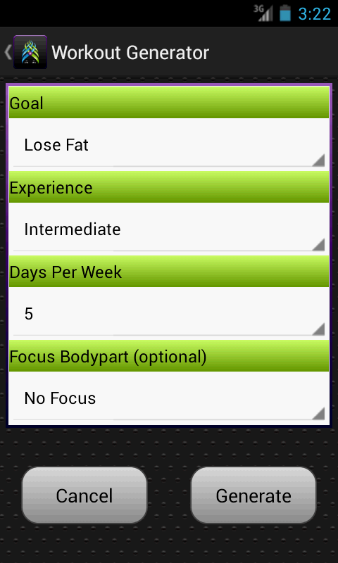 Gym Guru Pro, Workout, Fitness- screenshot