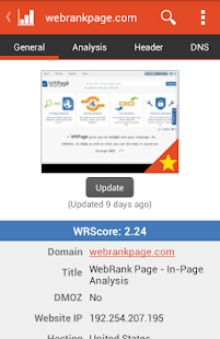 WebRank SEO - screenshot thumbnail