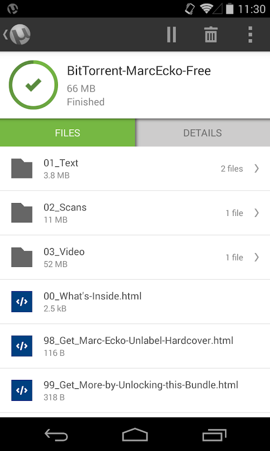 µTorrent® Pro - Torrent App - screenshot
