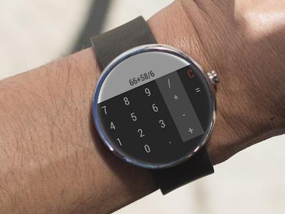 計算器 - Android Wear