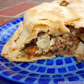 Pasties--A Meat Pie for Pi Day.