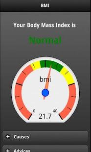 BMI Calculator Free - screenshot thumbnail