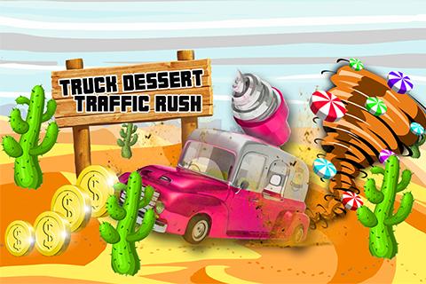 Truck Desert Traffic Rush