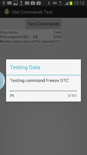 OBD Commands Test