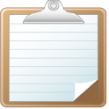 Simple note icon