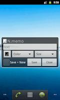 Screenshot of N.memo -Notification Memo-