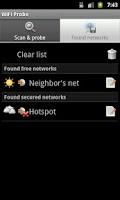 Screenshot of WiFi Probe
