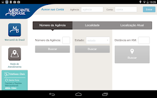 Screenshot of Mercantil do Brasil