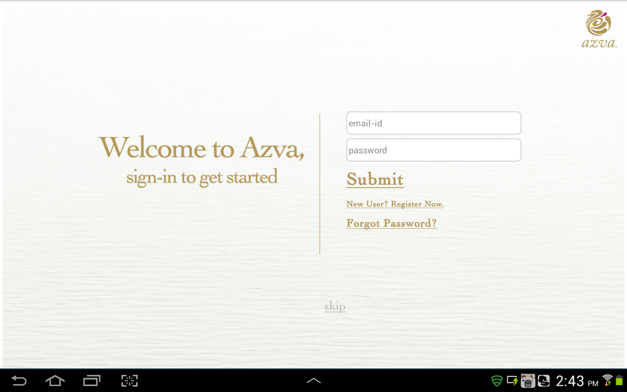 Azva- screenshot