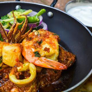 Seafood Handi.
