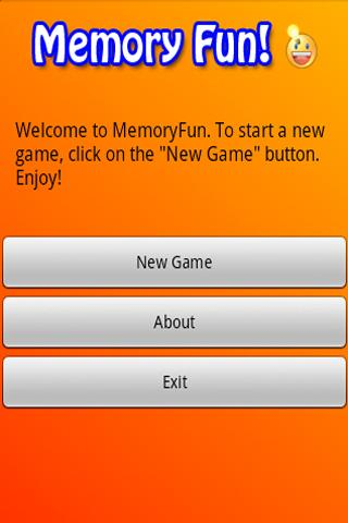 Memory for kids card matching - screenshot