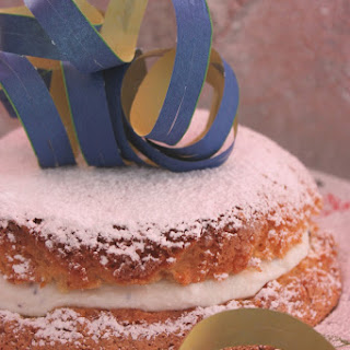 Italian Carnival Cake with Ricotta Filling.