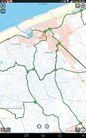 Screenshot of SityTrail Belgium