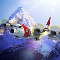 Airplane Mount Everest icon