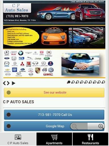 【免費商業App】C P Auto Sales-APP點子