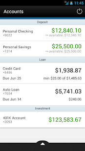 Pittsford FCU Mobile Banking - screenshot thumbnail
