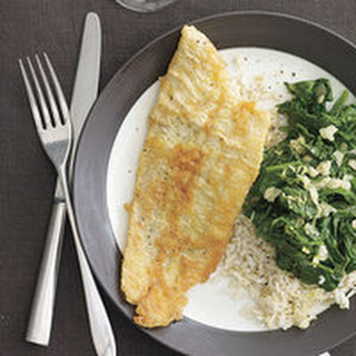 Sole with Lemon Spinach Recipe